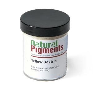 Natural Pigments Yellow Dextrin (4 oz vol)