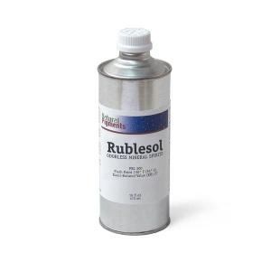 Natural Pigments Rublesol Odorless Mineral Spirits 16 fl oz