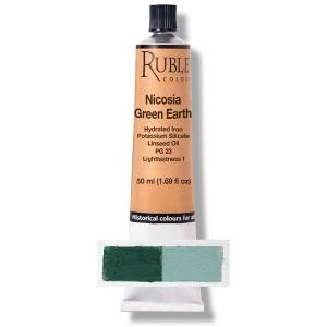 Natural Pigments Nicosia Green Earth 50 ml