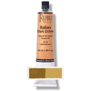 Natural Pigments Italian Dark Ocher 50 ml