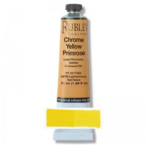 Natural Pigments Chrome Yellow Primrose 50 ml