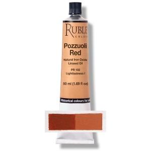 Natural Pigments Pozzuoli Red 50 ml