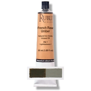 Natural Pigments French Raw Umber 50 ml