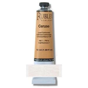 Natural Pigments Ceruse 50 ml - Color: White