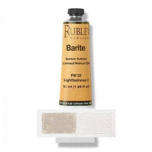 Natural Pigments Barite (Baryte) 50 ml - Color: Buff