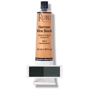 Natural Pigments German Vine Black 50 ml
