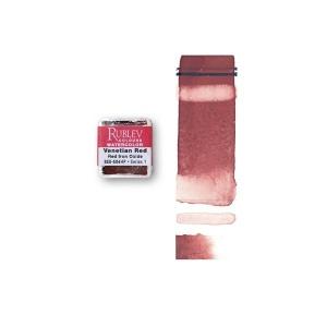 Natural Pigments Venetian Red (Half Pan) - Color: Red