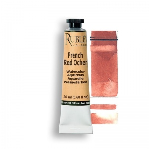 Natural Pigments French Red Ocher 15ml - Color: Red