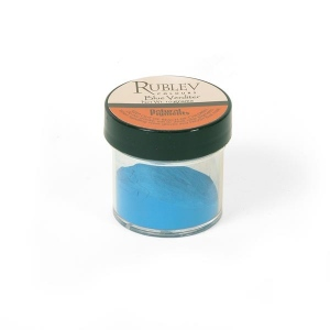 Natural Pigments Blue Verditer 10 g - Color: Blue