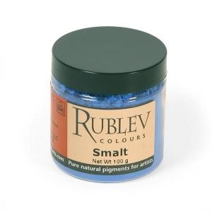 Natural Pigments Smalt 100 g - Color: Blue