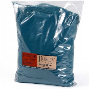 Natural Pigments Maya Blue 500 g - Color: Blue