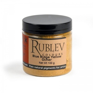 Natural Pigments Blue Ridge Yellow Ocher 100 g - Color: Yellow