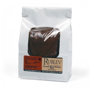 Rublev Colours Nicosia Burnt Sienna Dark 5 kg - Color: Brown