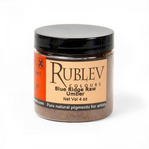 Natural Pigments Blue Ridge Raw Umber (4 oz vol) - Color: Brown
