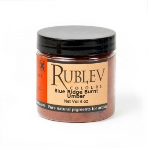 Natural Pigments Blue Ridge Burnt Umber (4 oz vol) - Color: Brown