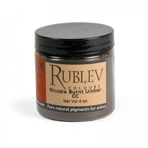 Natural Pigments Nicosia Burnt Umber CC (4 oz vol) - Color: Brown