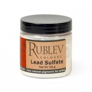 Natural Pigments Lead Sulfate 100 g - Color: White