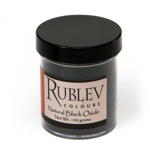 Natural Pigments Natural Black Oxide 100 g - Color: Black