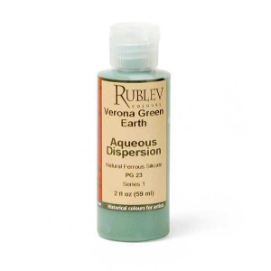 Natural Pigments Verona Green Earth 2 fl oz - Color: Green