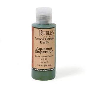 Natural Pigments Antica (Prun) Green Earth 2 fl oz - Color: Green