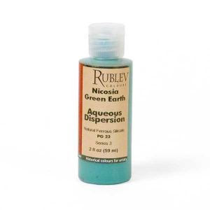 Natural Pigments Nicosia Green Earth 2 fl oz - Color: Green