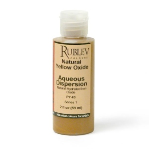 Natural Pigments Natural Yellow Oxide 2 fl oz - Color: Yellow