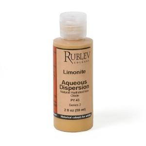 Natural Pigments Limonite 2 fl oz - Color: Yellow
