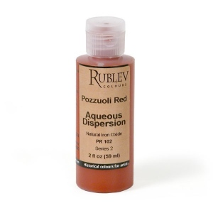 Natural Pigments Pozzuoli Red 2 fl oz - Color: Red