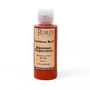 Natural Pigments Ercolano Red 2 fl oz - Color: Red