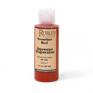 Natural Pigments Venetian Red 2 fl oz - Color: Red