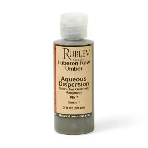 Natural Pigments Luberon Raw Umber 2 fl oz - Color: Brown