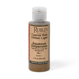 Natural Pigments Cyprus Raw Umber Light 2 fl oz - Color: Brown