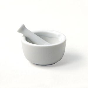 Natural Pigments Mortar and Pestle (2.5 Inch Diameter)