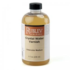 Natural Pigments Crystal Water Varnish 8 fl oz