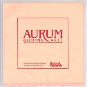 Natural Pigments Aurum Composition Metal Leaf No. 2.5 (Book)