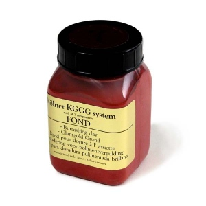 Natural Pigments Kolner Burnishing Clay (Red) 100 ml