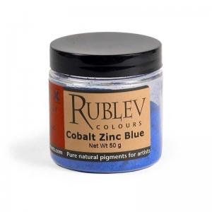 Natural Pigments Cobalt Zinc Blue 100 g - Color: Blue