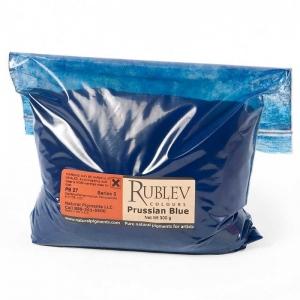 Natural Pigments Prussian Blue 500 g - Color: Blue