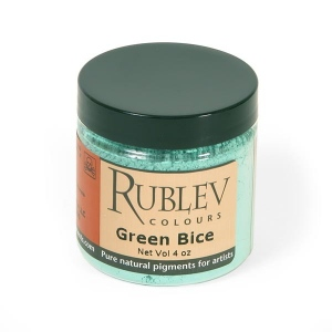 Natural Pigments Green Bice (4 oz vol) - Color: Green