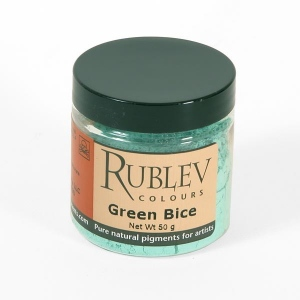 Natural Pigments Green Bice 50 g - Color: Green