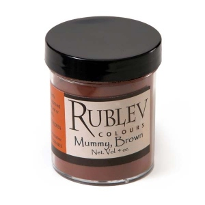 Natural Pigments Bauxite Mummy 100 g - Color: Brown
