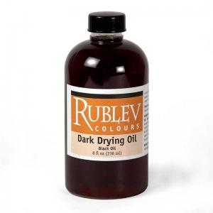 Natural Pigments Dark Drying Oil (Black Oil) 8 fl oz