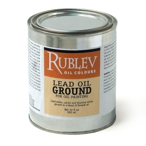 Natural Pigments Lead Oil Ground (gallon)