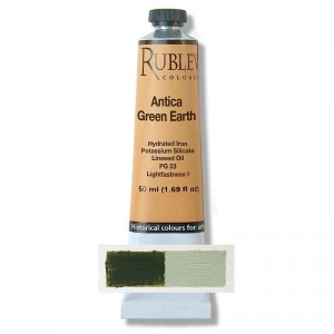 Natural Pigments Antica Green Earth 130 ml - Color: Green
