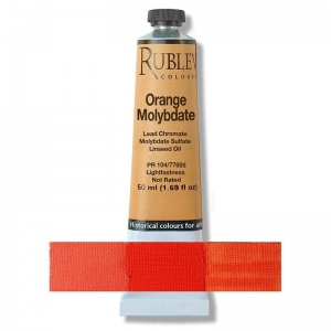 Natural Pigments Orange Molybdate 50 ml - Color: Orange
