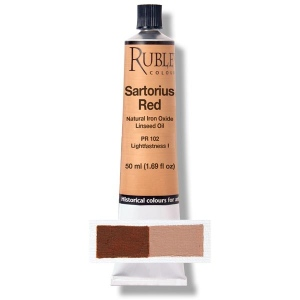 Natural Pigments Red Sartorius Earth 130 ml