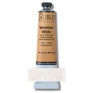 Natural Pigments Venetian White 130 ml - Color: White