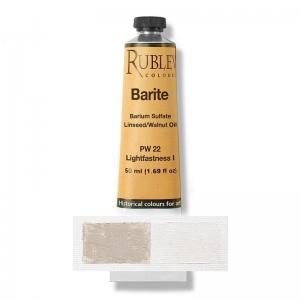 Natural Pigments Barite (Baryte) 130 ml - Color: Buff