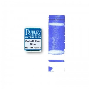 Natural Pigments Cobalt Zinc Blue (Full Pan) - Color: Blue