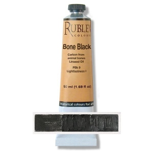 Natural Pigments Blue Black 130 ml - Color: Black